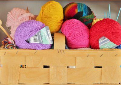 Tricot ou crochet de base