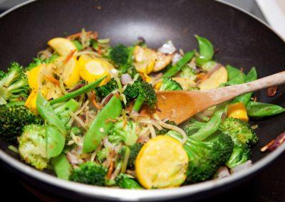 Cuisine végétarienne et protéines