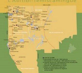 Histoire de l'Abitibi-Témiscamingue en bref