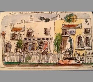 Sketch urbain