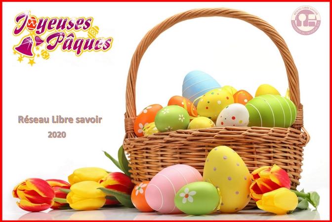 Joyeuses Pâques à toutes et à tous