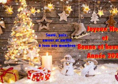 Joyeuses fêtes 2020 à toutes et à tous